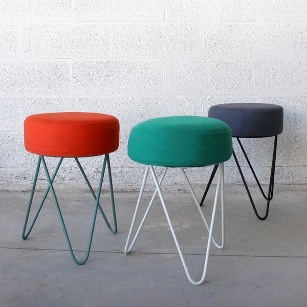 Zelená stolička na sedenie Red Cartel Orson