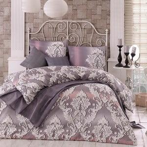 Obliečky s plachtou Damask Lilac, 200x220 cm