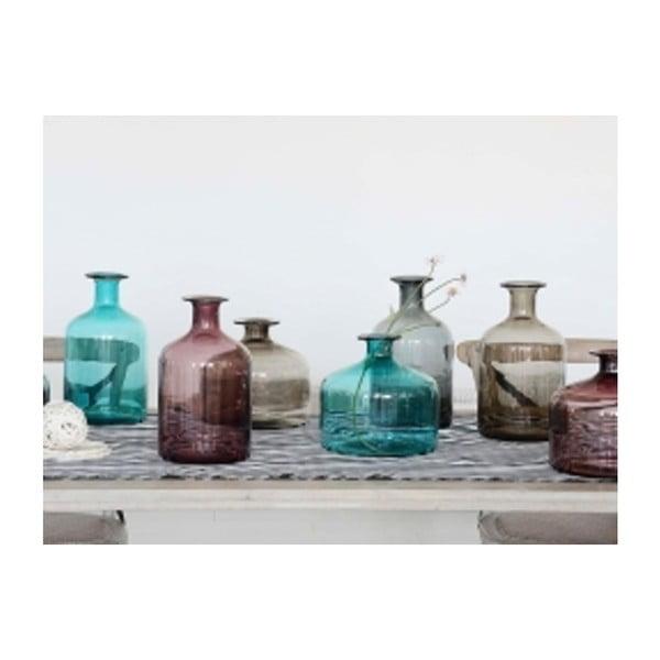 Veľká tyrkysová sklenená váza Santiago Pons