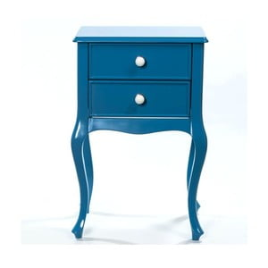Odkladací stolík Bourbon Blue, 46x33x70 cm