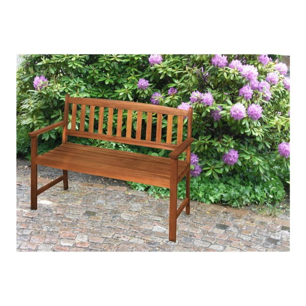 Záhradná lavica z eukalyptového dreva ADDU Promotion