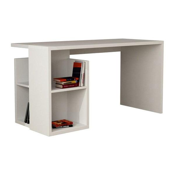 Pracovný stôl Worms, biely