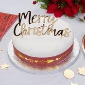 Ozdoba na tortu Neviti Dazzling Christmas