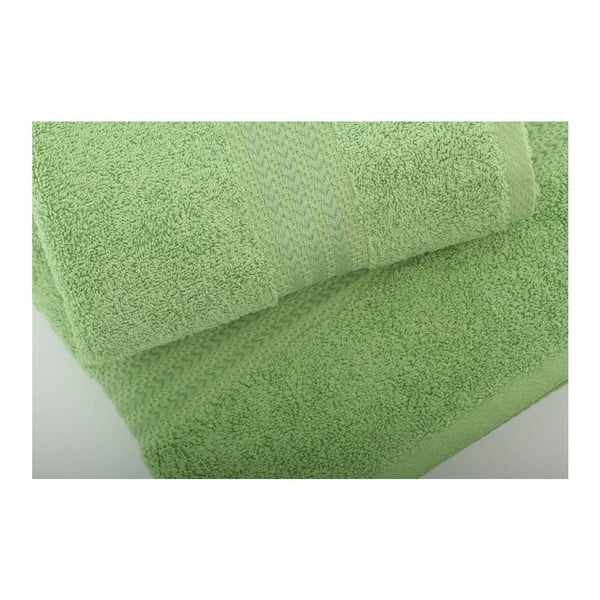 Sada 3 zelených uterákov Rainbow