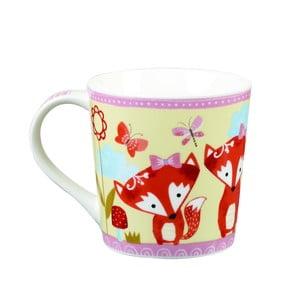 Farebný porcelánový hrnček Churchill China Sister Flowers, 400ml