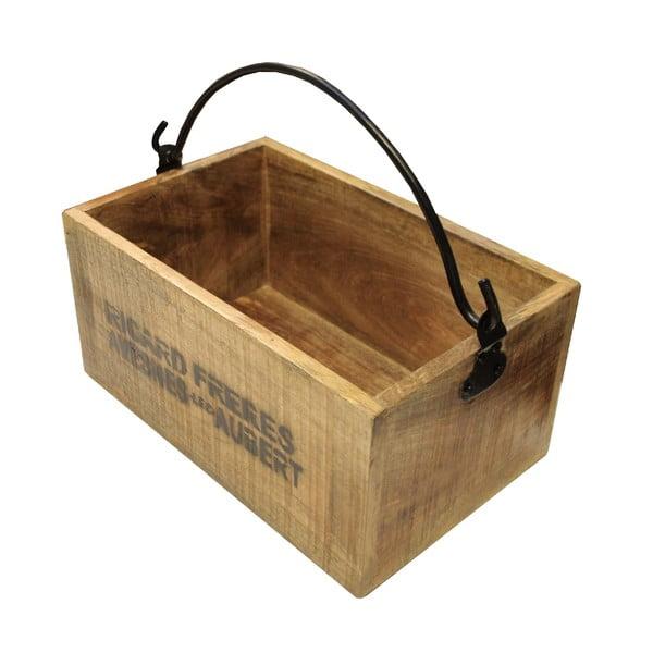 Úložná drevená krabica Factory