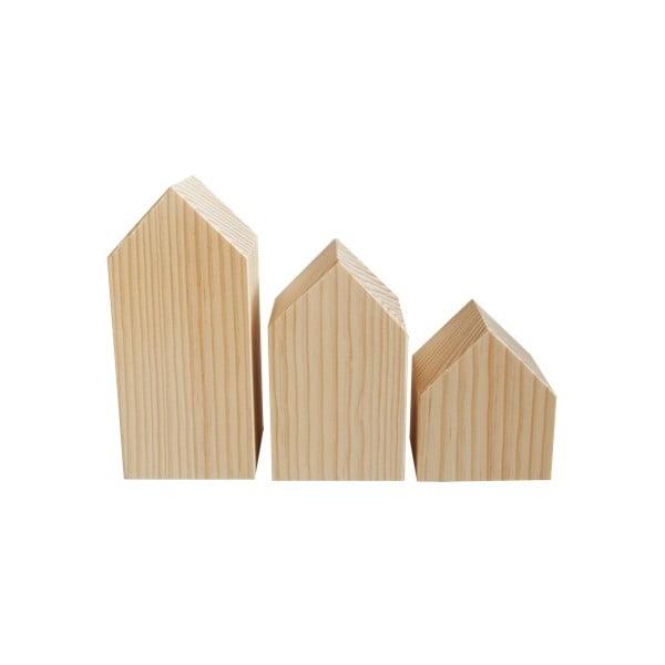 Dekorácia Casitas de madera