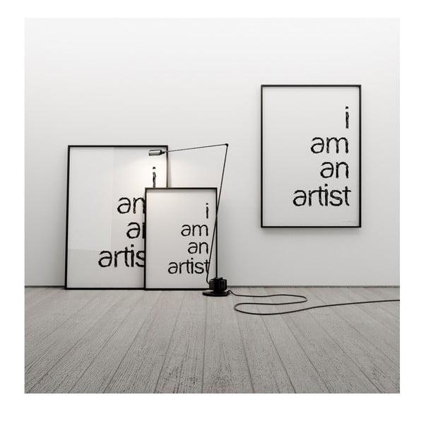 Plagát I am an artist, 50x70 cm