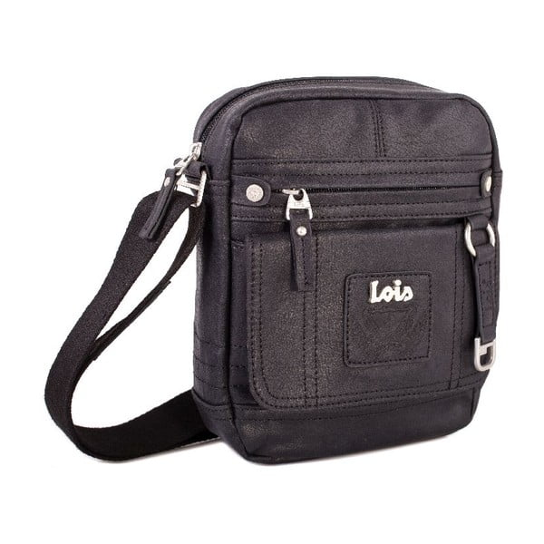 Taška cez rameno Lois Black, 18x22 cm