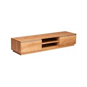 Televízny stolík z dubového dreva Fornestas Hamilton, šířka 180 cm