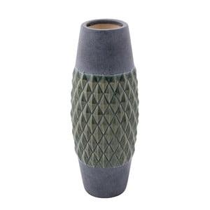 Keramická váza Zuiver Nito Moss, výška 35,5 cm