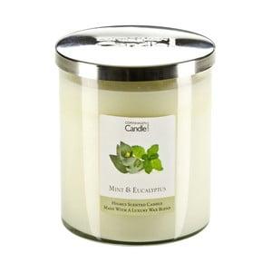 Aromatická sviečka s vôňou mäty a eukalyptu Copenhagen Candles, doba horenia 70hodín