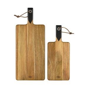 Sada 2 doštičiek na krájanie Gentlemen's Hardware Serving Boards