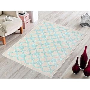 Modrý odolný koberec Vitaus Scarlett, 60x90cm