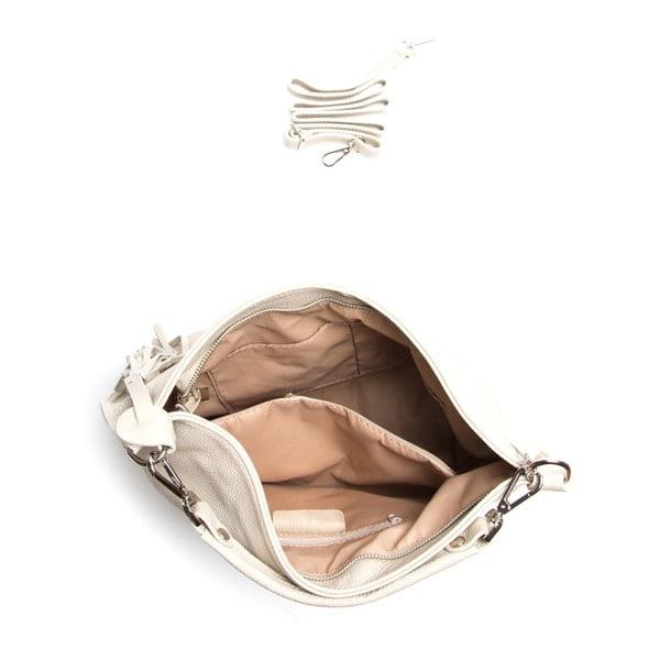 Kožená kabelka Isabella Rhea 1152 Beige