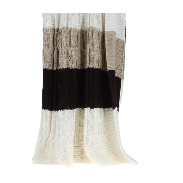 Pletená prikrývka Naturaliste, 220x240 cm