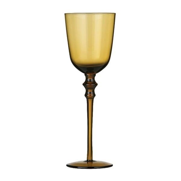 Set 4 pohárov na víno Smoke Amber