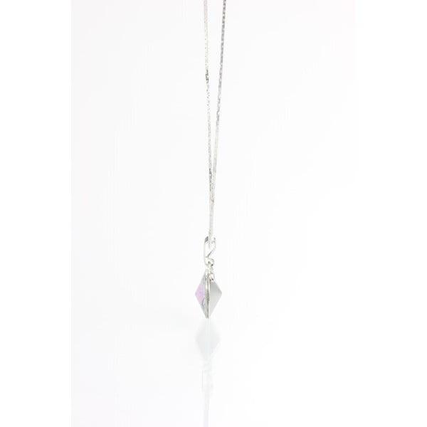 Modrý náhrdelník so Swarovski krištáľmi Yasmine Longie