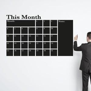 Samolepka na stenu This month