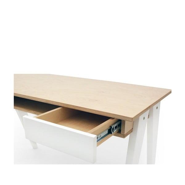 Pracovný stôl Huh Walnut