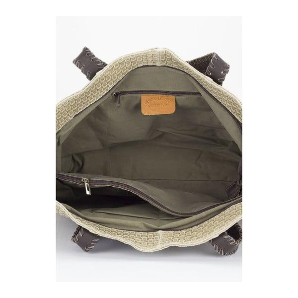 Kožená kabelka Markese 1156 Fango