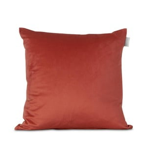 Oranžová obliečka na vankúš HF Living Velvet, 45×45cm