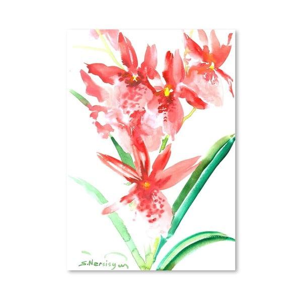 Plagát Orchids in Pink od Suren Nersisyan
