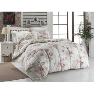 Prikrývka na posteľ Firuze Pink, 195x215 cm