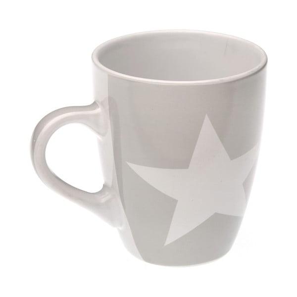 Hrnček Grey & White Star