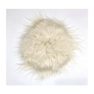 Prestieranie z ovčej kožušiny Iceland White, 35 cm
