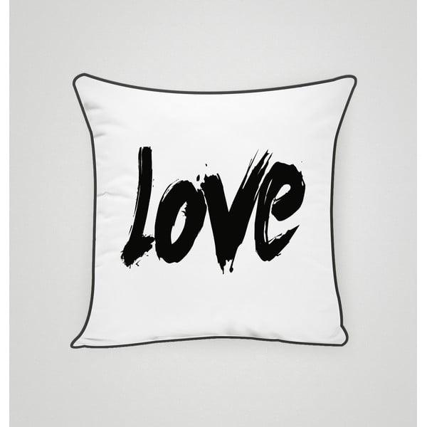 Obliečka na vankúš Love II, 45x45 cm