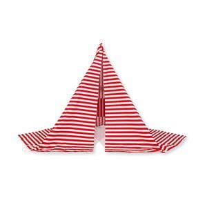 Stan proti vetru Wind Banner Red Stripes
