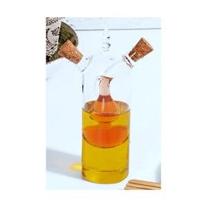 Sklenený dávkovač na olej a ocot Kutahya Double