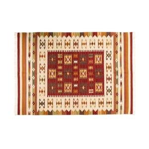 Ručne tkaný koberec Kilim Dalush 003, 90x60 cm