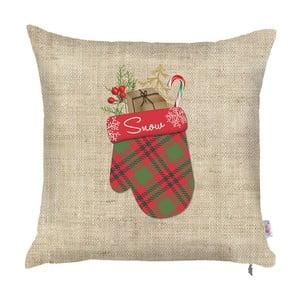 Vianočná obliečka na vankúš Apolena Honey Decorative, 43×43 cm