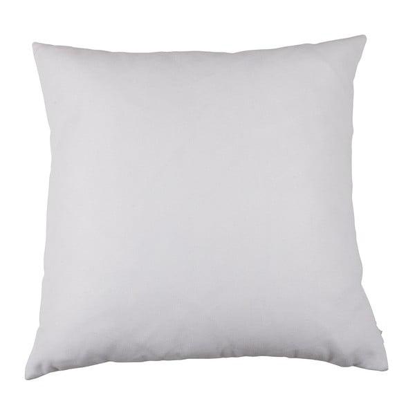 Čierno-biela obliečka na vankúš Apolena Be Yourself, 43×43 cm