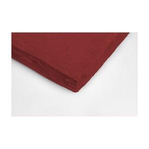 Vínovočervená mikroplyšová prikrývka na dvojlôžko My House, 180×200 cm