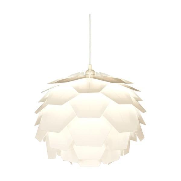 Biele závesné svietidlo Scan Lamps Carpatica, ⌀41cm