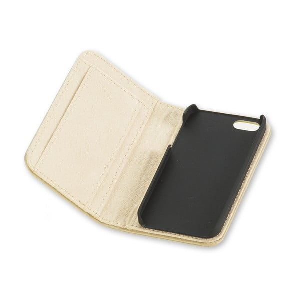 Béžový obal na iPhone 5/5S Moleskine
