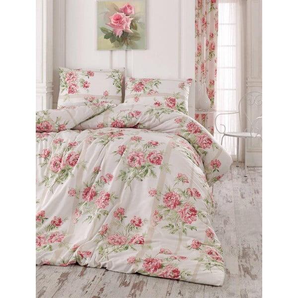 Obliečky s plachtou Firuze Pink, 200x220 cm