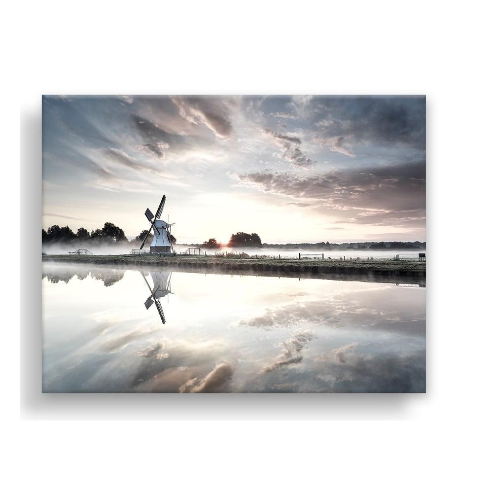 Obraz na plátne Styler Windmill, 100 x 75 cm