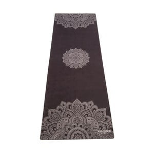 Čierna podložka na jogu Yoga Design Lab Mandala, 1,8 kg