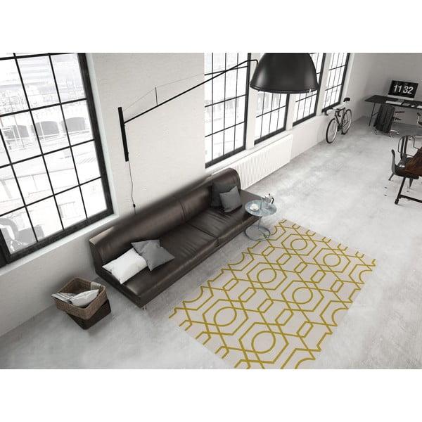 Žlto-sivý koberec Kayoom Stella 400 Yellow, 160x230cm