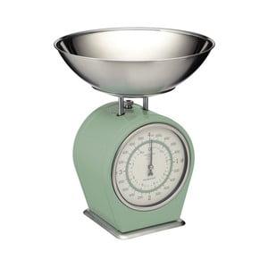 Zelená kuchynská váha Kitchen Craft Living Nostalgia, 4kg