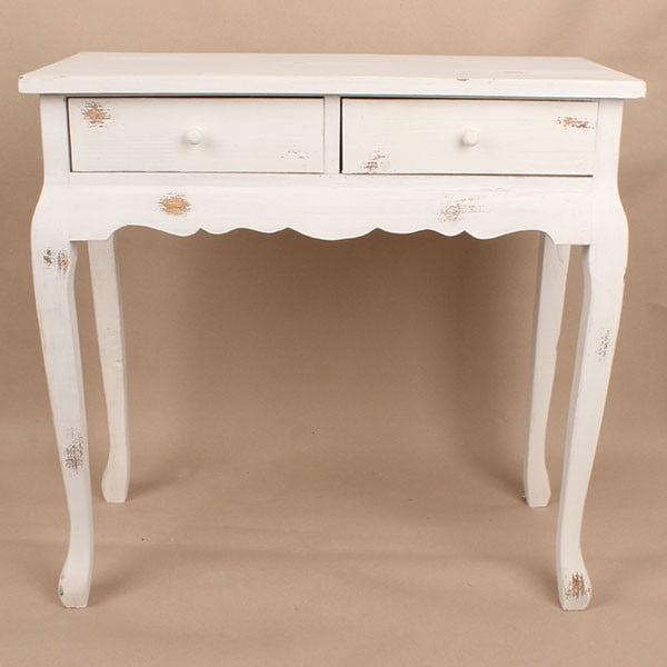 Drevený stôl White Days, 72x71 cm