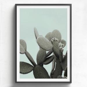 Obraz v drevenom ráme HF Living Lanzarote, 21 x 30 cm