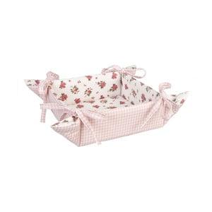 Košík na chlieb Clayre, ružový