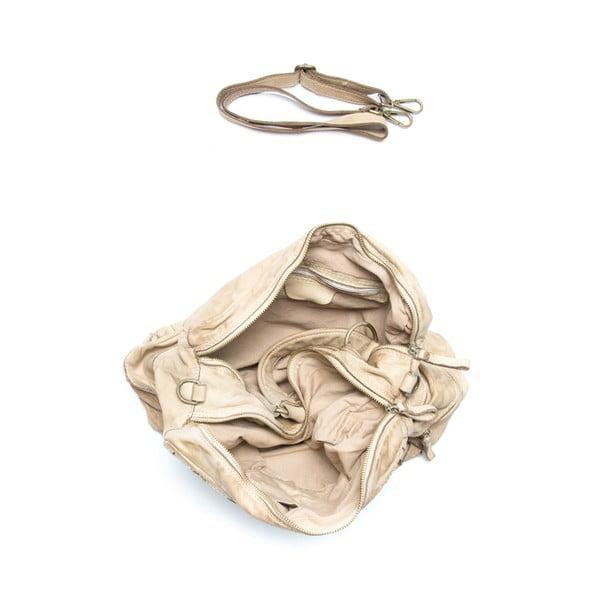 Kožená kabelka Mangotti 0004, kameň