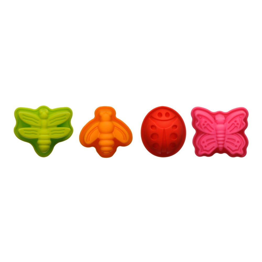 Sada 4 silikónových formičiek na dortíky Premier Housewares