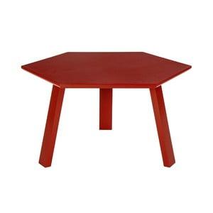 Konferenčný stolík Hexagon Red, 47x37x47 cm